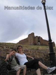 Mama y yo en el castillo